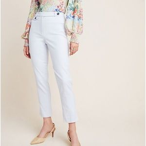 Anthropologie The Essential Slim Trousers NWT